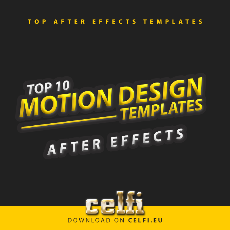 Top10 Motion Design Templates