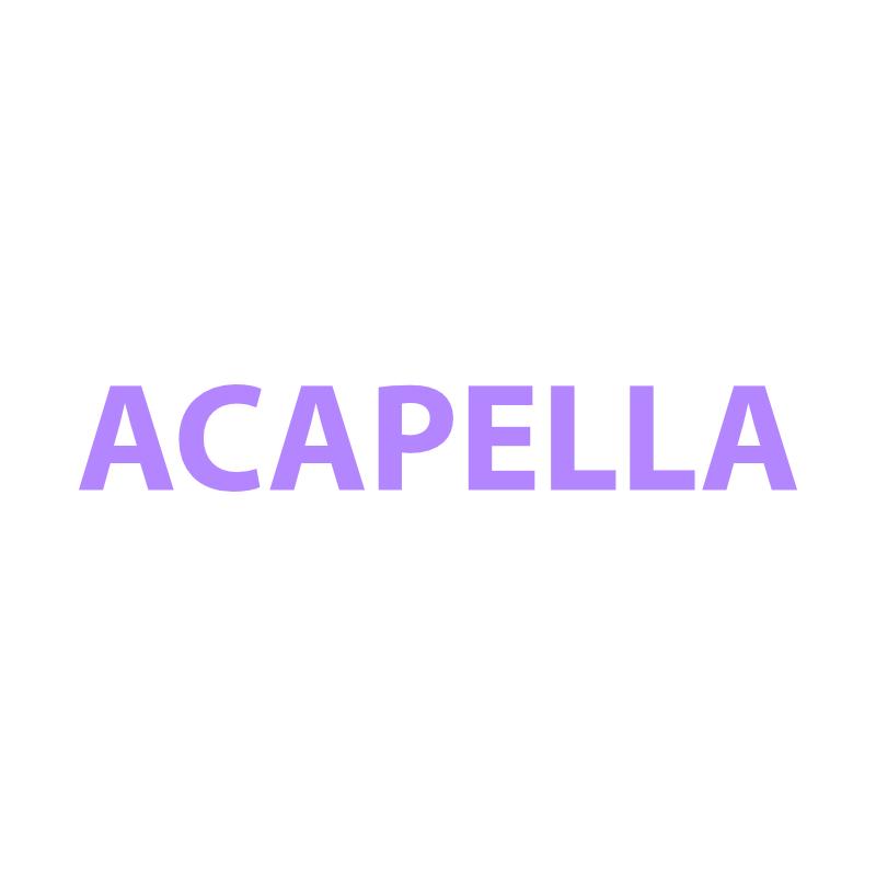 Acapellas