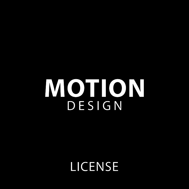 Motion Design Licenses
