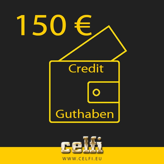 Recharge 150,-- € credit