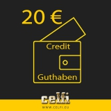 Recharge 20,-- € credit