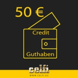 Recharge 50,-- € credit