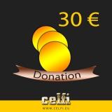 Donation 30,-- €