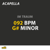 092 BPM - G# Minor - Im Traum | Sinay & Nick Musik | Audio Products