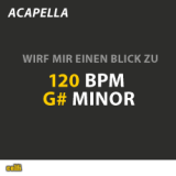 120 BPM - G# Minor - Wirf mir einen Blick zu | Sinay & Nick Musik | Audio Products
